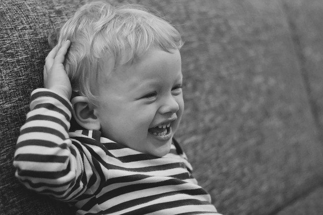 veselé dítě