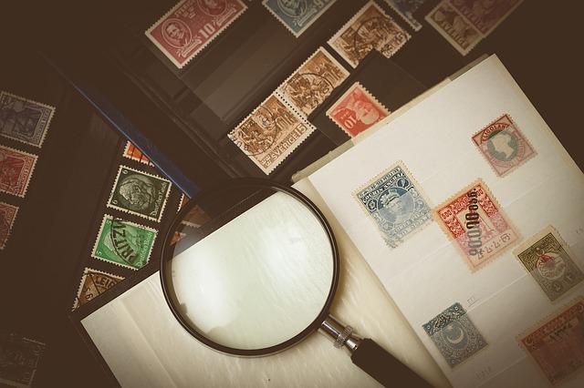 sbírka známek